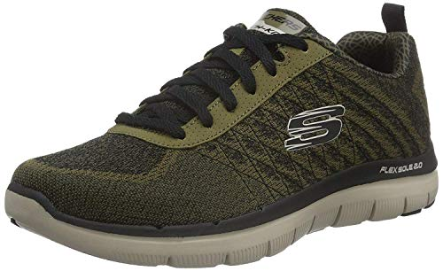 Skechers Flex Advantage 2.0-Golden Point, Baskets Basses Homme