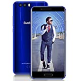 Dual Sim Smartphone 4G, Blackview P6000 (2018) 6180mAh Batterie Handy Mobiltelefon Telefon mit 12V 2A Schnellladung, Dual Rear Kameras 21MP+8MP + 0.3MP Android 7.1 Smartphone Ohne Vertrag, 6GB RAM + 64GB ROM Helio P25, 5.5
