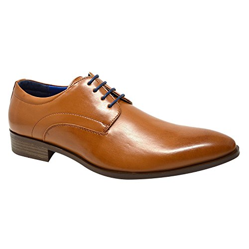 Xelay , Chaussures à lacets homme Brown Tan