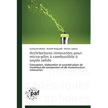 Architectures innovantes pour micro-piles à combustible à oxyde solide
