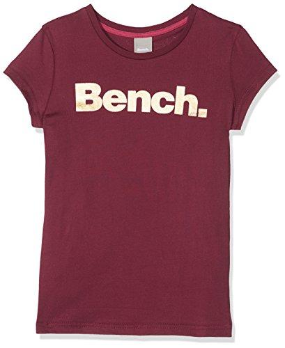 Bench Mädchen T-Shirt New Corp Tee, Rot (Cabernet Rd11343), 152 (Herstellergröße: 11-12) (Aus T-shirt Mädchen)