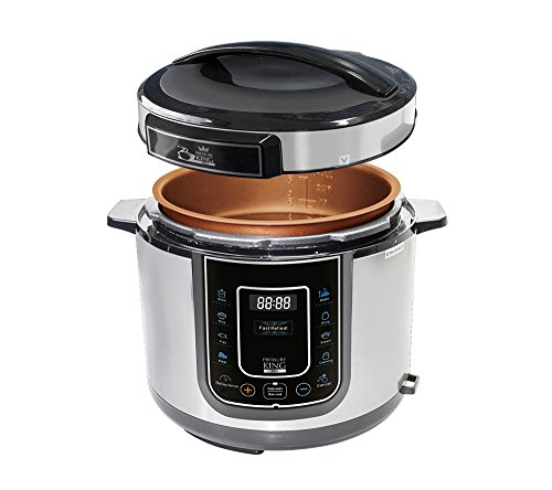 Pressure King Pro 12 in 1 Slow Cooker, 5 L, 900 W,electric