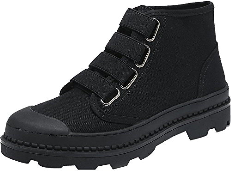 HLPYL  Martin Stiefel hohe Stiefel Stiefel Schuhe für Männer Bangjun Schnee Stiefel.  42  Schwarz