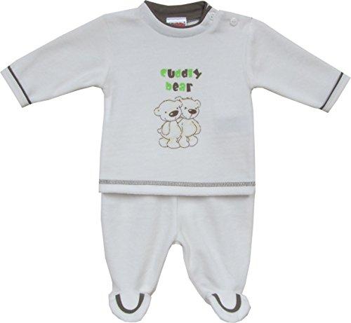 Schnizler - Nickianzug Cuddly Bear - Jogging suit Mixte blanc (original 900)