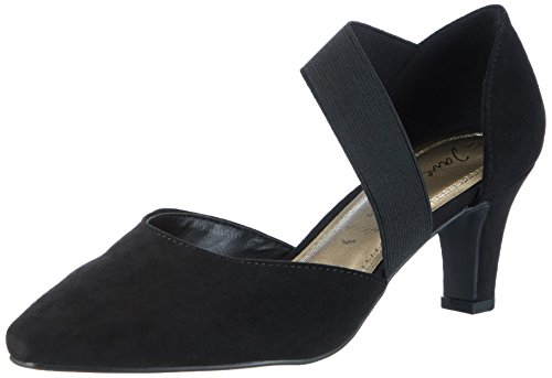 Jane Klain Damen 224 001 Pumps Schwarz (nero)