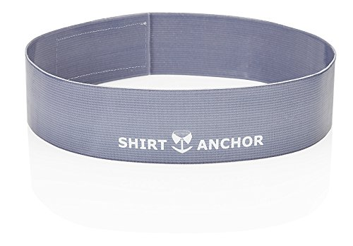 Shirt Anchor Gürtel nur für das Hemd (Hemd-Halter, Shirt Stays) Hält das Hemd in der Hose!