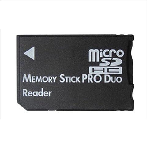 Micro SD SDHC TF MEMORY STICK zu Memory Stick MS Pro Duo Kartenleser PSP Adapter Converter