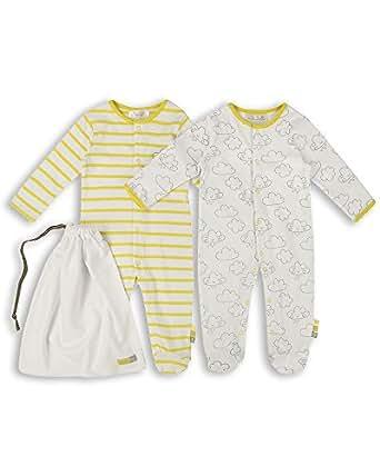the essential one unisex baby schlafanzuge schlafanzug einteiler langarmeliger body strampler 2. Black Bedroom Furniture Sets. Home Design Ideas