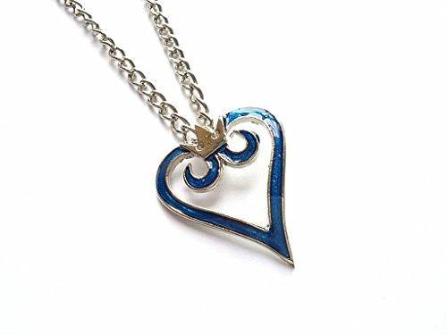 Preisvergleich Produktbild Kingdom Hearts Sora Heart Pendant Anhaenger Halskette Cosplay