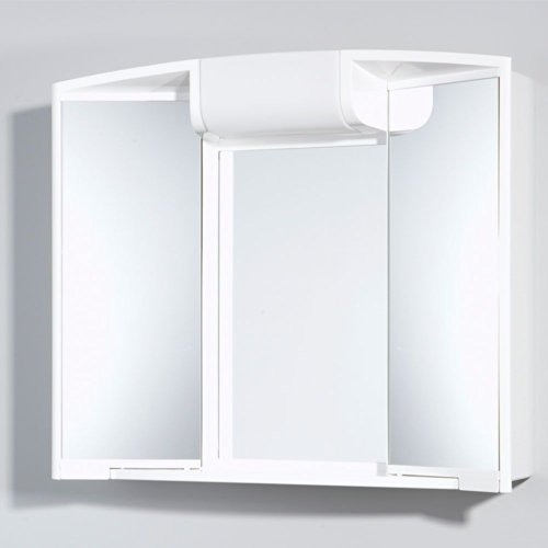 #Spiegelschränke weiß 59 x 50 cm Pharao24#
