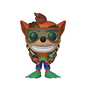 Funko Pop Crash buceador (Crash Bandicoot 421) Funko Pop Crash Bandicoot