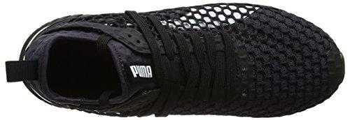 Puma Ignite Dual Netfit, Scarpe Sportive Outdoor Uomo Nero (Black-quiet Shade)