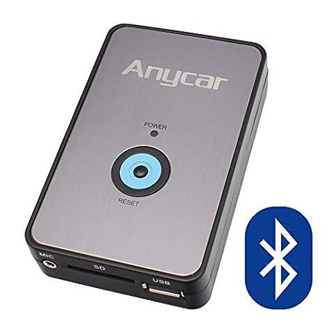 USB SD AUX MP3 Adapter + Bluetooth Freisprechanlage für Audi: Chorus 2, Concert 1/2 ,Symphony 1/2, Navigation Plus