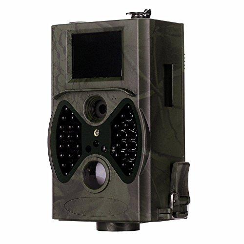 clarer Wildkamera / Beobachtung von Tieren / Tag & Nacht Überwachung / Schutzklasse IP54 / Standby bis zu 6 Monate / 2
