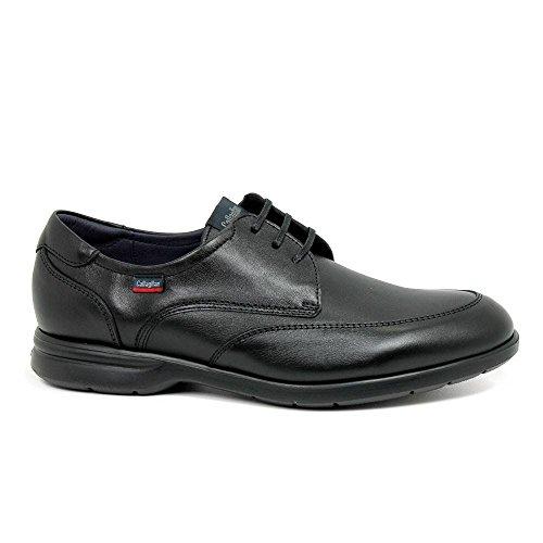 Callaghan Sportline, Zapatos de Cordones Oxford para Hombre, Azul (Azul 2), 44 EU