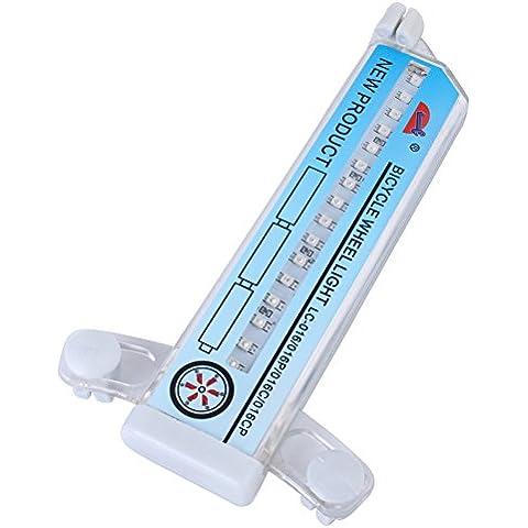 Merssavo 1 Lámpara del Cuatro-Color de 32 * 32 Se Convierte en Caballero Brillante Luces de Rayo de Bicicleta