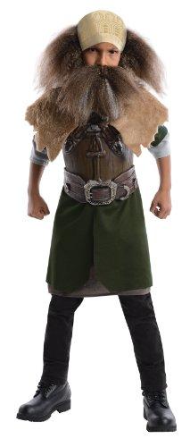 Dwalin Kostüm - The Hobbit Deluxe Dwalin Costume Child Medium
