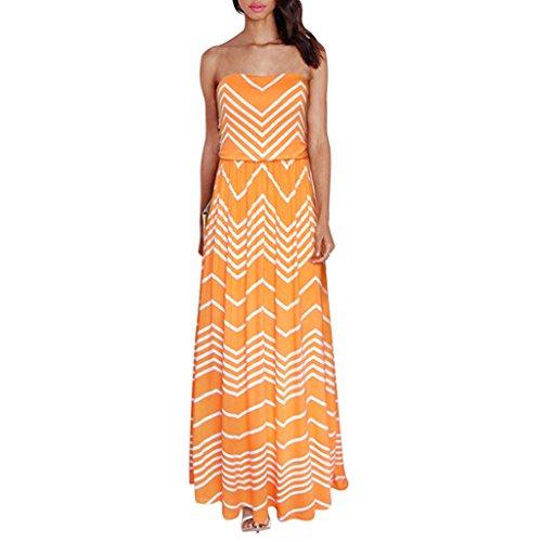 Nergivep -  Vestito  - Donna Arancione