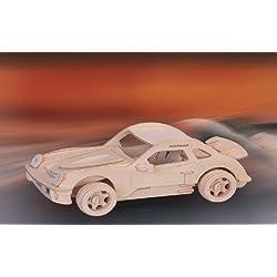 Maqueta de madera Porsche P 911