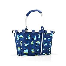 Reisenthel carrybag XS Kids ABC Friends Blue Sac de Sport Grand Format 34 Centimeters 5 Bleu (ABC Friends Blue)