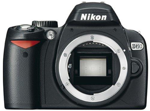 Nikon D60 SLR-Digitalkamera (10 Megapixel) Gehäuse (Nikon Makro-blitz)