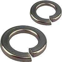 Messing Federscheiben Sprengring Federringe DIN 127 M3,4,5,6~22 Unterlegscheiben
