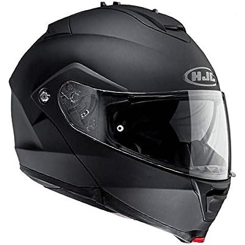 HJC Is-Max II - Casco abatible, color negro