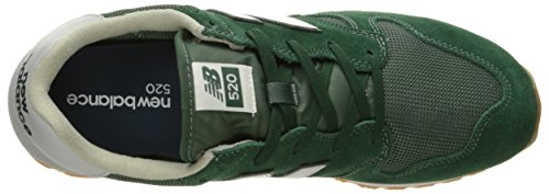 New Balance 520 Homme Baskets Mode Bleu Cilantro/Sycamore