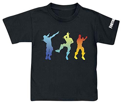 Camiseta Fortnite Dancing Black - Camiseta Fortnite Manga Corta (14 años)