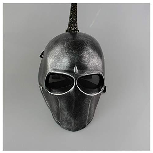 YaPin Neuheit Retro Silber Biohazard Trauer Bell-Armee von Zwei Star Wars-Maske (Armee Halloween Toten Make-up)