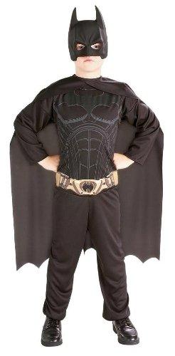 Kostüm Bold And Batman Brave Kind - Batman Kostüm Batmankostüm Kinder Bat man Fledermaus Superheld Held Kinderkostüm Jungen Jungenkostüm Ritter Lizenz Muskeln Film Comic Muskelshirt Brave and Bold Knight Gr. L, M, Größe:M