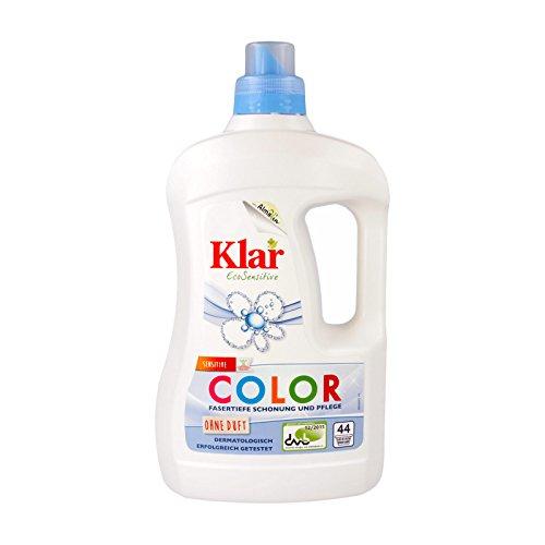 Klar Bio Basis Sensitive Color Waschmittel 2 l