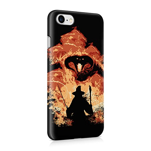 Lord Of The Rings Balrog Cs Gandalf iPhone 7 Hard Plastic Phone Case Cover