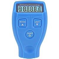 Yardwe Medidor de Espesor GM200 Recubrimiento de Pintura Probador de película ultrasónica Mini máquina de Pintura de Revestimiento de Coche sin batería (Azul)