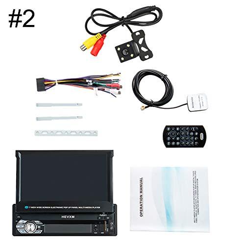Sguan-wu HEVXM 9901G 7 Zoll BT Autoradio GPS-Navigation Einziehbarer MP5-Player - 2#