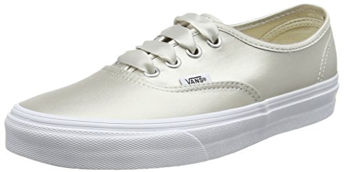 Beige 36 EU Vans Authentic Sneaker Donna Satin Lux Scarpe 03v