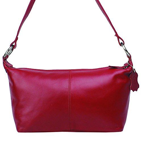 Jenes & Jandura Free Style, Borsa a spalla donna Small Rot