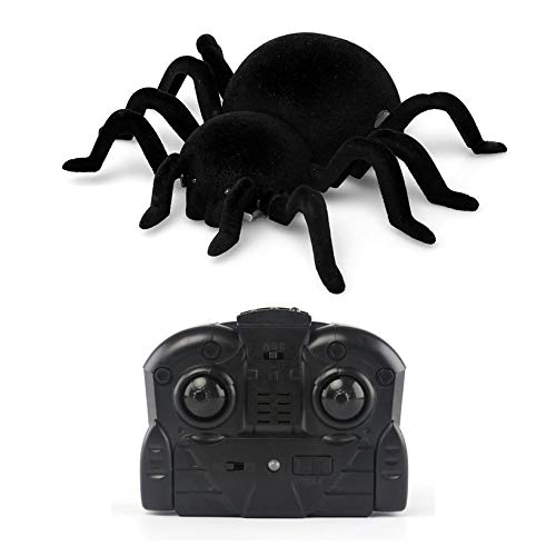 JICHUIO Wall Climbing Spider Infrared RC Simulation Furry Electronic Spider Great Gift -