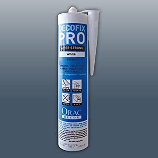 ORAC FDP500 DecoFix Installation adhesive 310 ml | water-based acrylic glue for mouldings profiles cornices decorations