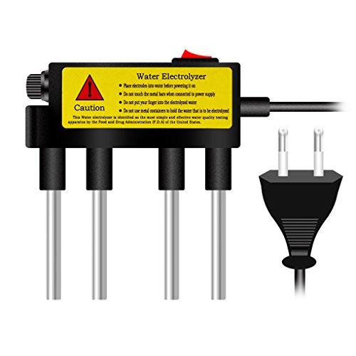Busirde Wasserelektrolyseur Test-Wasser-Elektrolyse-Werkzeuge Wasser Reinheit Level Meter Wasserqualität Tester