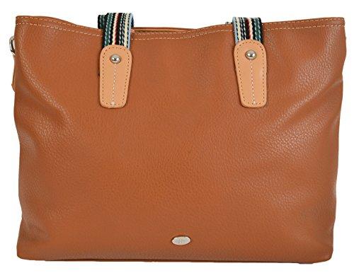 David Jones Bellflower Ladies Shopper Bag Cognac