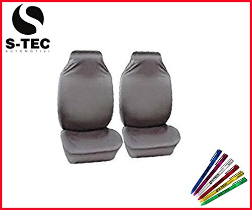 cadillac-sts-s-tech-heavy-duty-protectors-1-1-grey-water-resistant-front-seat-covers-free-s-tech-pen