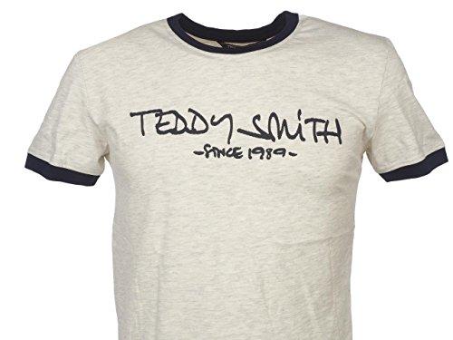 Teddy Smith Herren T-Shirt beige beige Einheitsgröße Beige