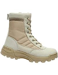 Yudesun Esercito Pattuglia Combattimento Stivali - Deserto Tattico Cadetto  Sicurezza Militari Escursionismo Martin Stivale Lavoro Giungla 059a7d8a842