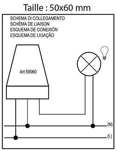 Schema Elettrico Crepuscolare : Electraline interruttore crepuscolare per uso