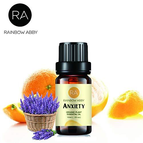 Beruhigen Sie Angst Ätherisches ÖL, Anxiety Essential Oil - 100% Reines, Ätherisches ÖL Der Besten Organischen Therapeutischen Qualität - 10ML -