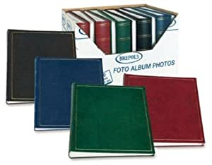 BREPOLS - ALBUM PHOTO CLASSIQUE 29X32cm, 100 pages blanches = 500 photos