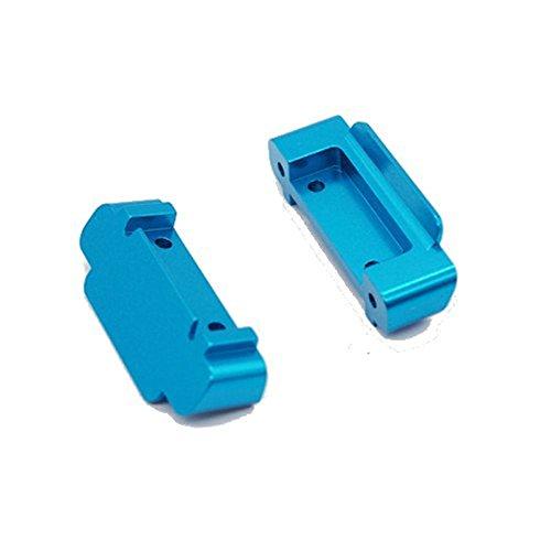 LaDicha 2St Upgrade Ersatzteile Rc Auto Parts Front Heckstoßstange Für Wltoys A959-B A969-B A979-B - Blau