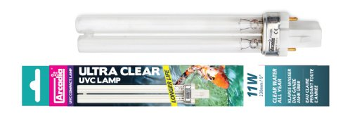 Aquarium Systems fgc24 Ultra Clear de bassin UVC Lampe de rechange 24 W