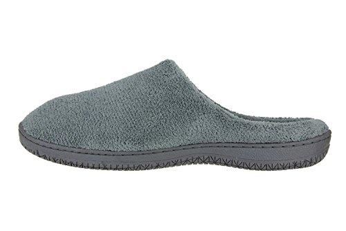 MOXO Pantofole Uomo Grigio